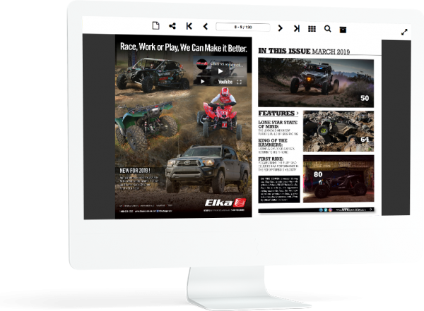 Interactive Digital Magazines Online from PDFs